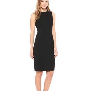 Calvin Klein Multi Seamed Sleeveless Sheath Dress